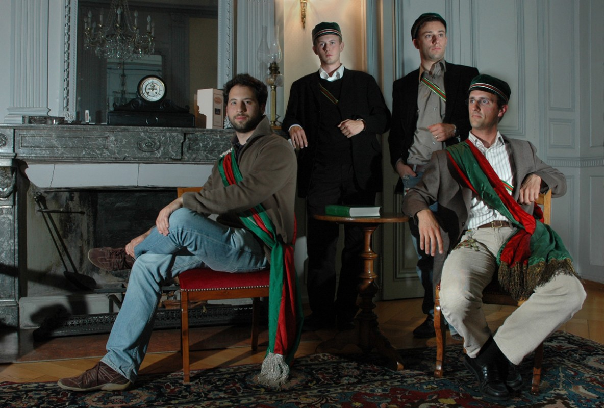 david, président, loïc secrétaire-archiviste, adrien, trésorier, simon, responsable lapin vert
